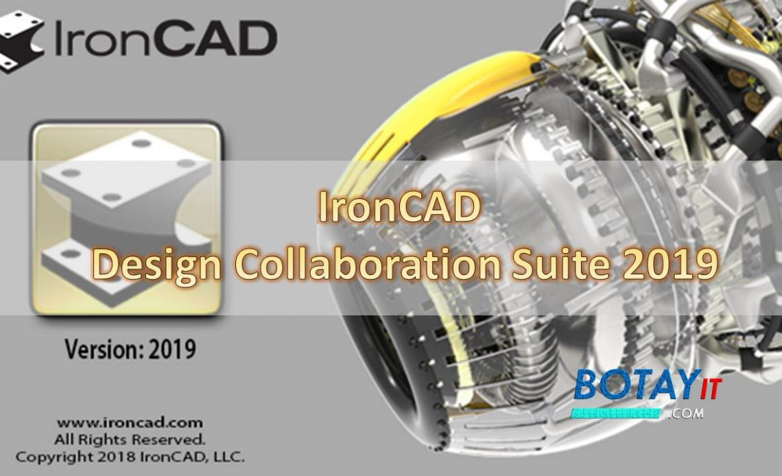 IronCAD Design Collaboration Suite 2019 full crack