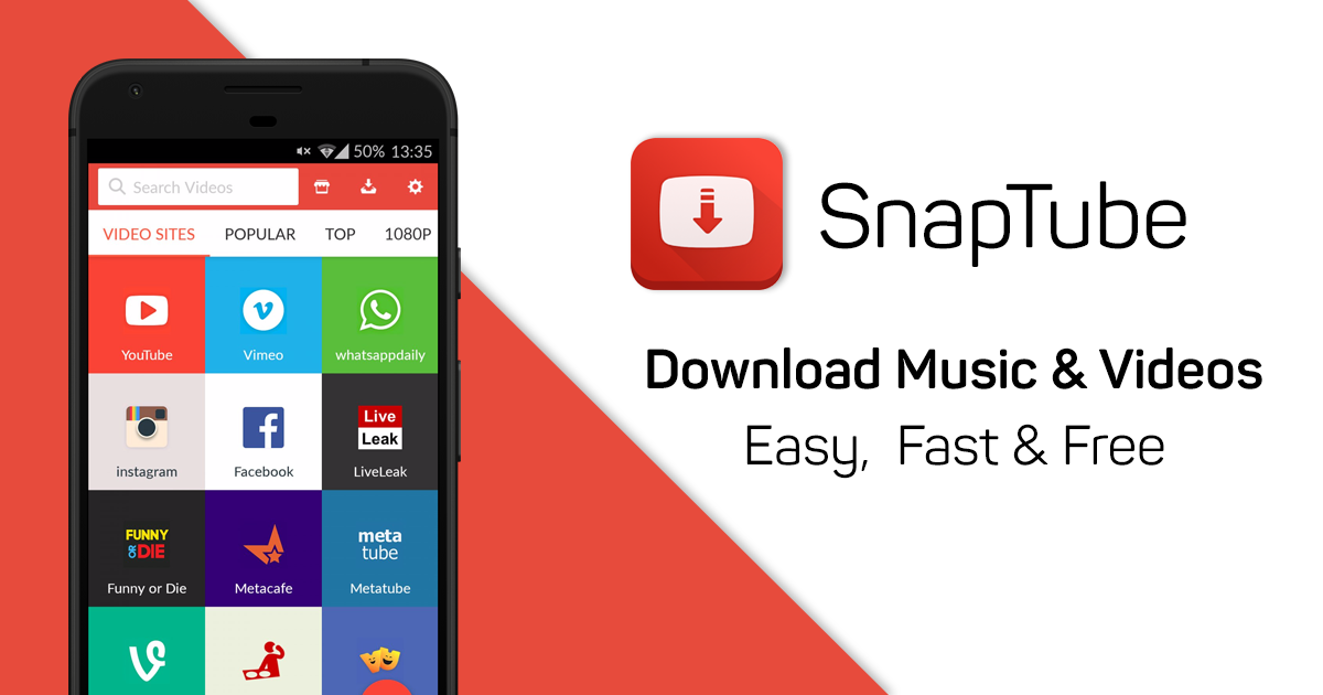 download snaptube vip cho android