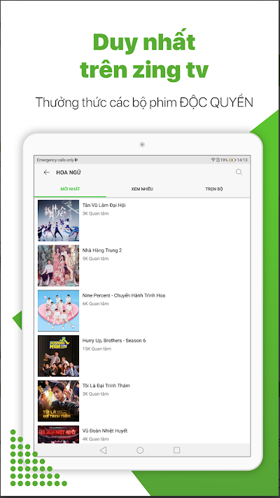 zing tv mod vip apk cho android