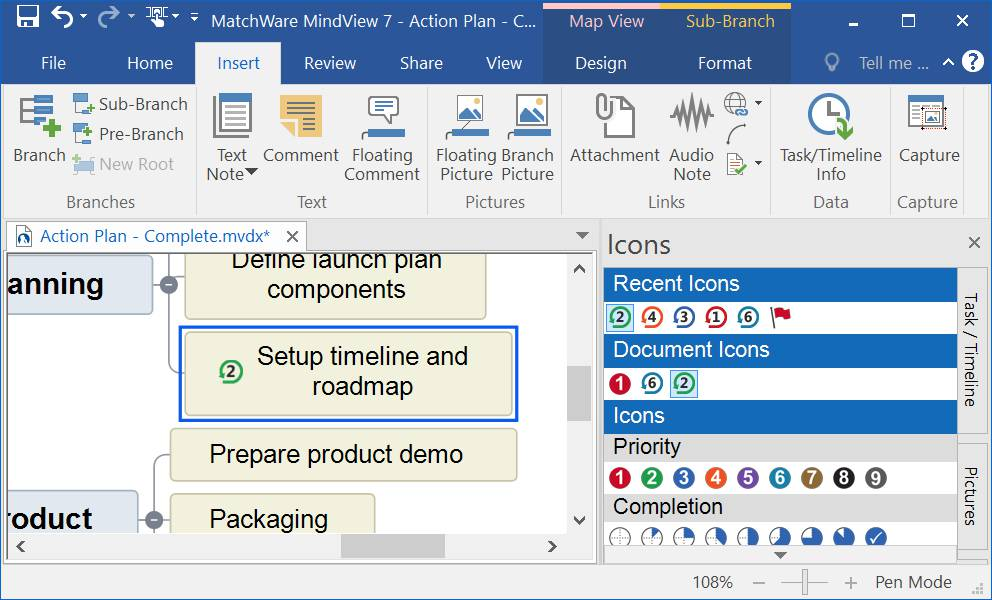 MatchWare MindView Business Edition