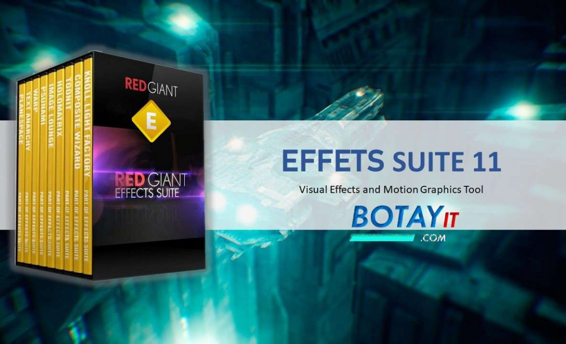 Red Giant Effects Suite full crack