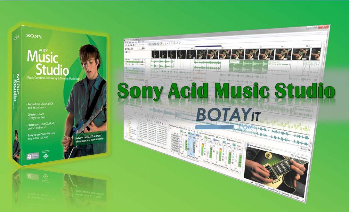 Sony Acid Music Studio full crack