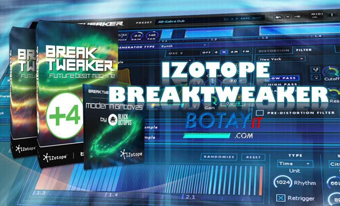 iZotope BreakTweaker full crack