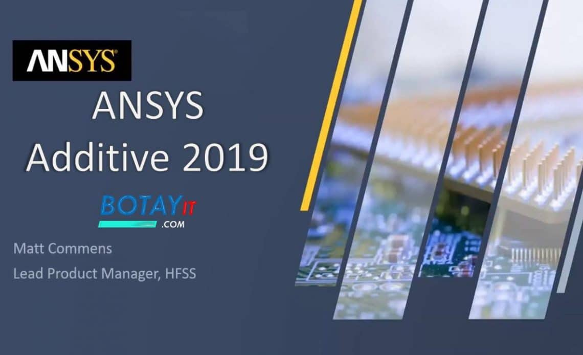 ANSYS Additive 2019 full crack