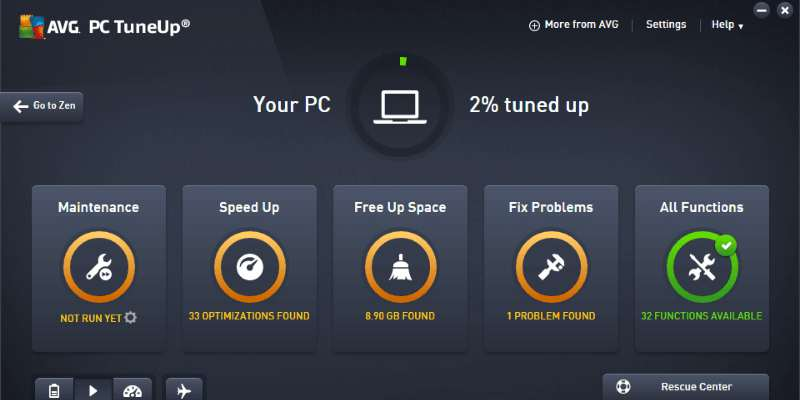 AVG TuneUp 2019 free download