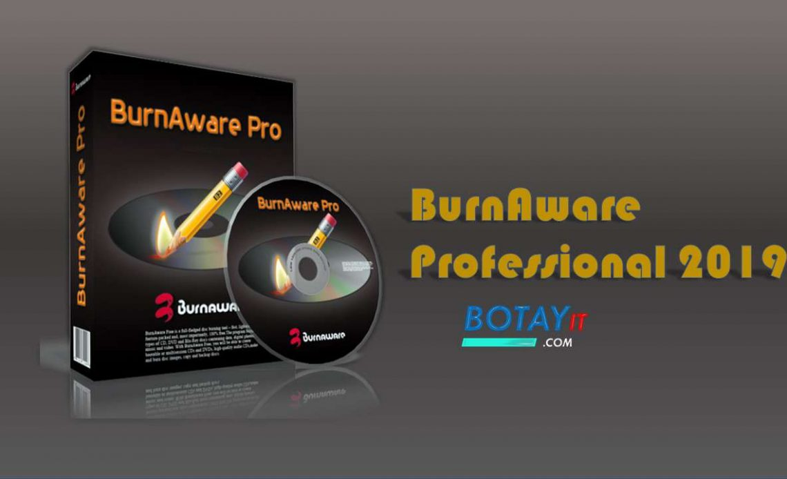 BurnAware Professional 2019 full crack