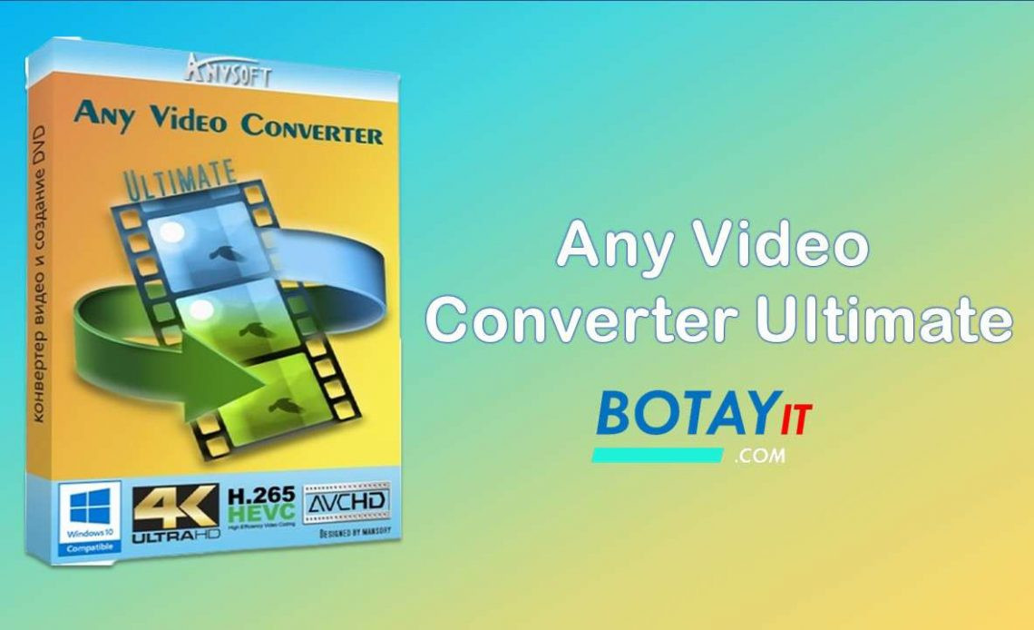 Any Video Converter Ultimate 6 crack