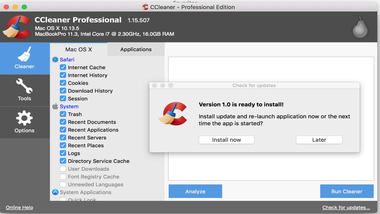 CCleaner Professional full active
