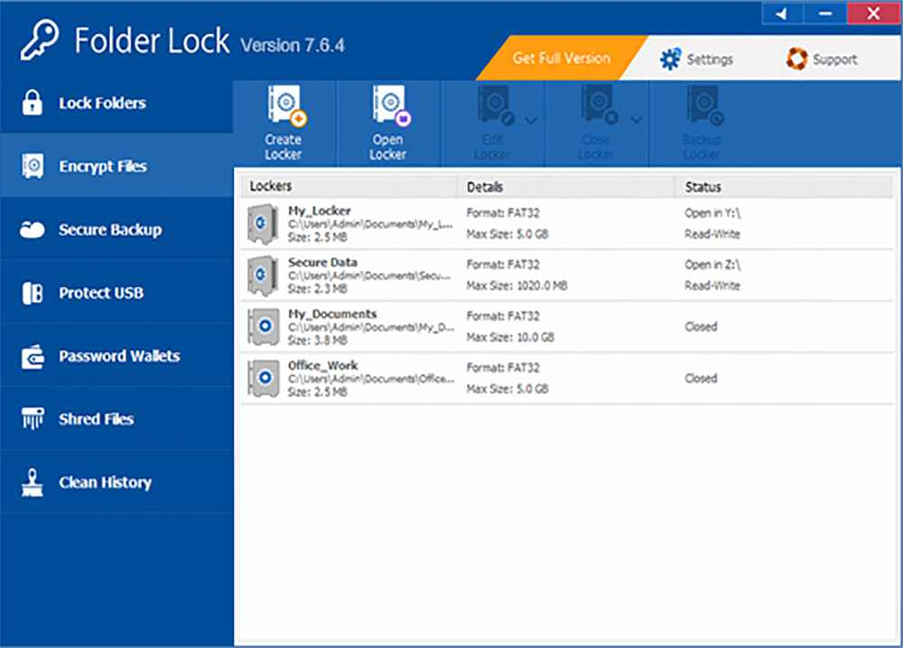 Folder Lock full active