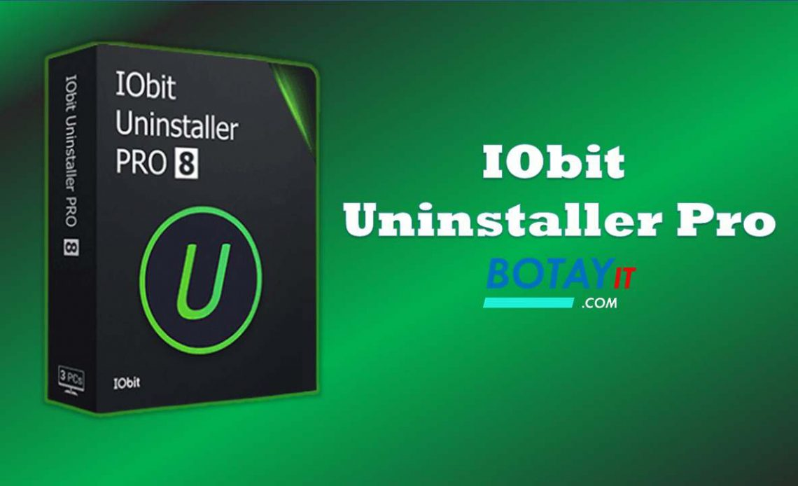IObit Uninstaller Pro 8 full crack