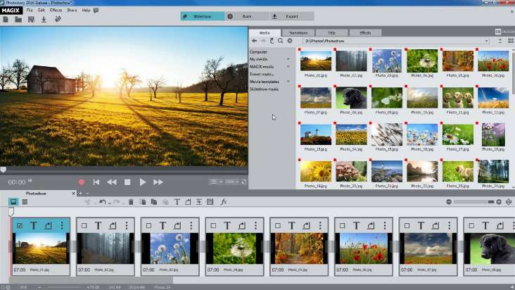 MAGIX Photostory 2019 free download