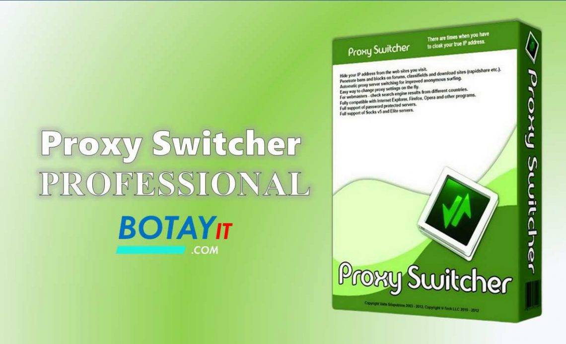 tải về Proxy Switcher PRO full active