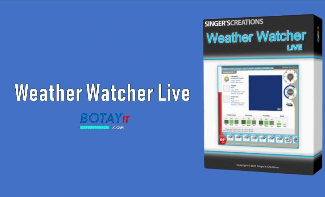 download Weather Watcher Live Pro 2019 full crack