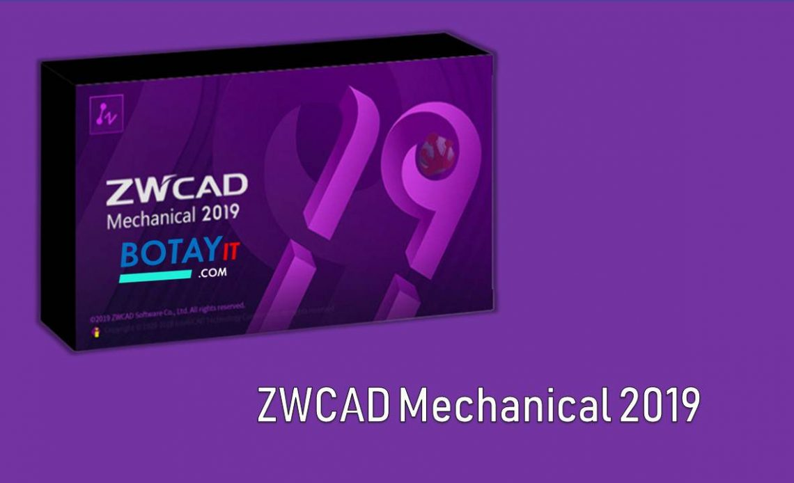 download ZWCAD Mechanical 2019 full crack