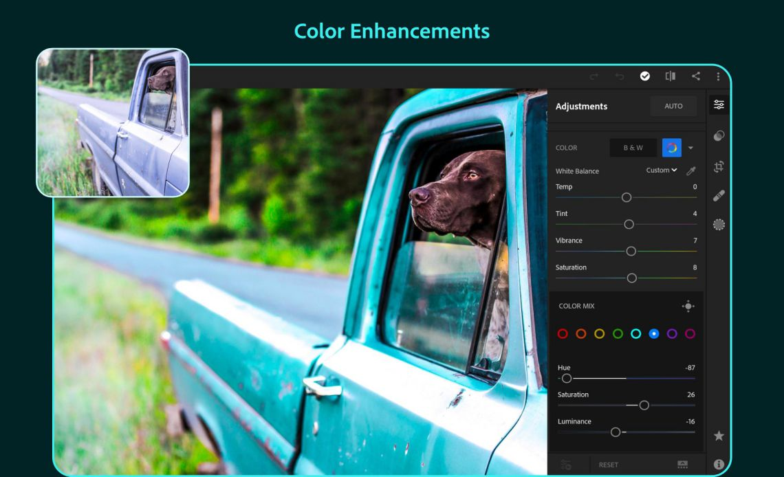 Adobe Lightroom full mod apk presets