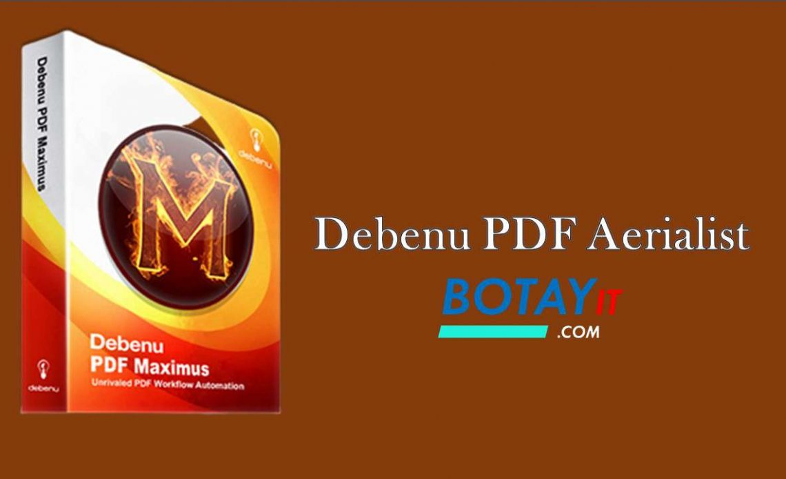 download Debenu PDF Aerialist 2019 full crack