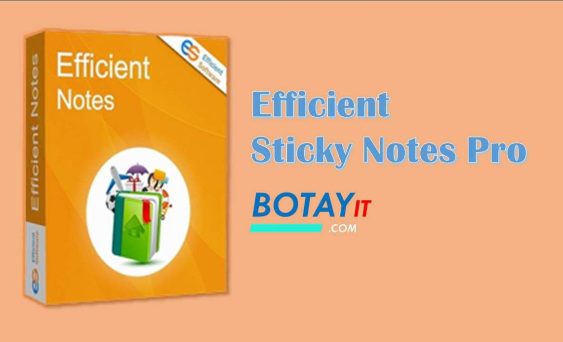 download Efficient Sticky Notes Pro 2019 full active