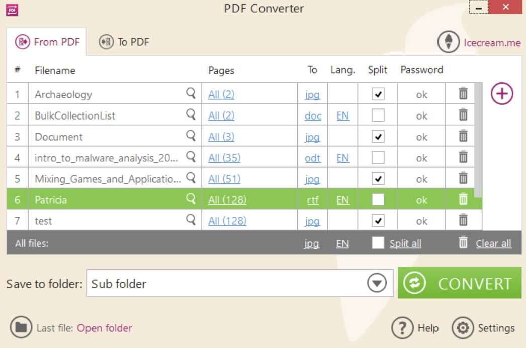 Icecream PDF Converter Pro key active