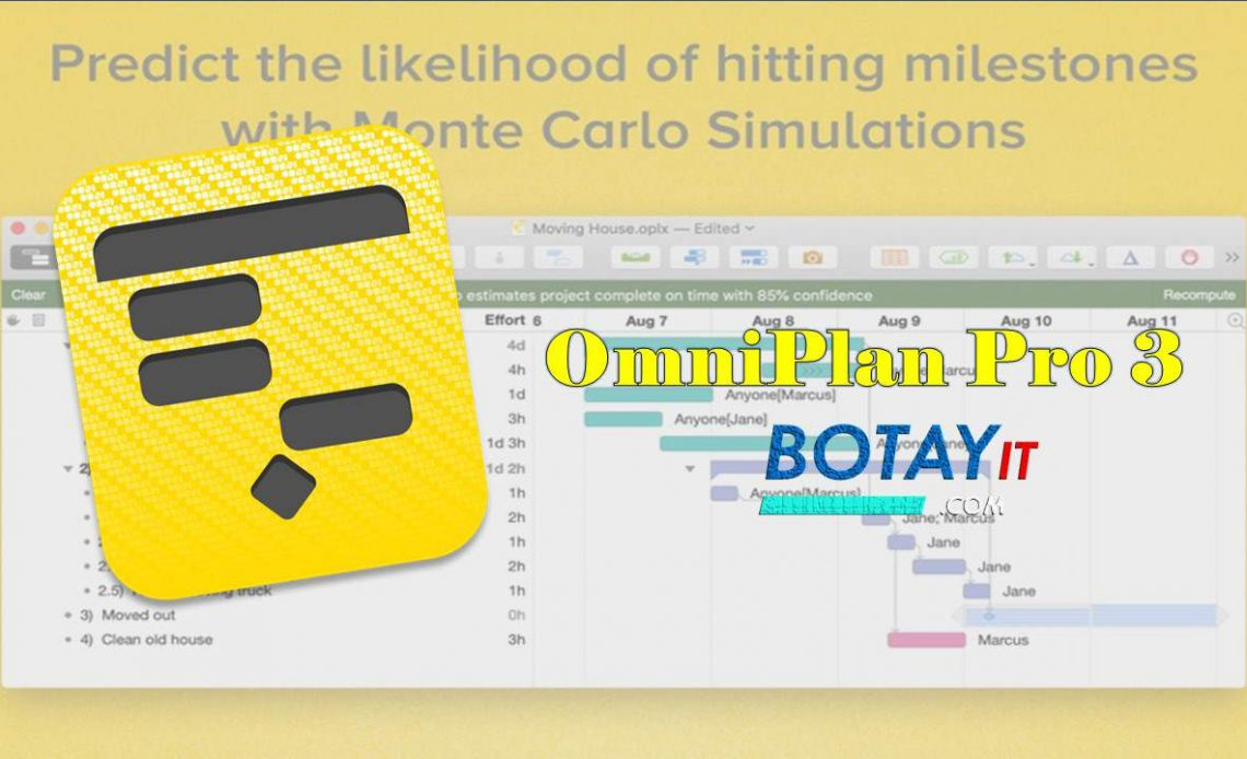 download OmniPlan Pro 3 for MacOS X crack