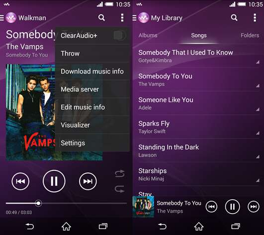 download Sony XPERIA Music Mod APK