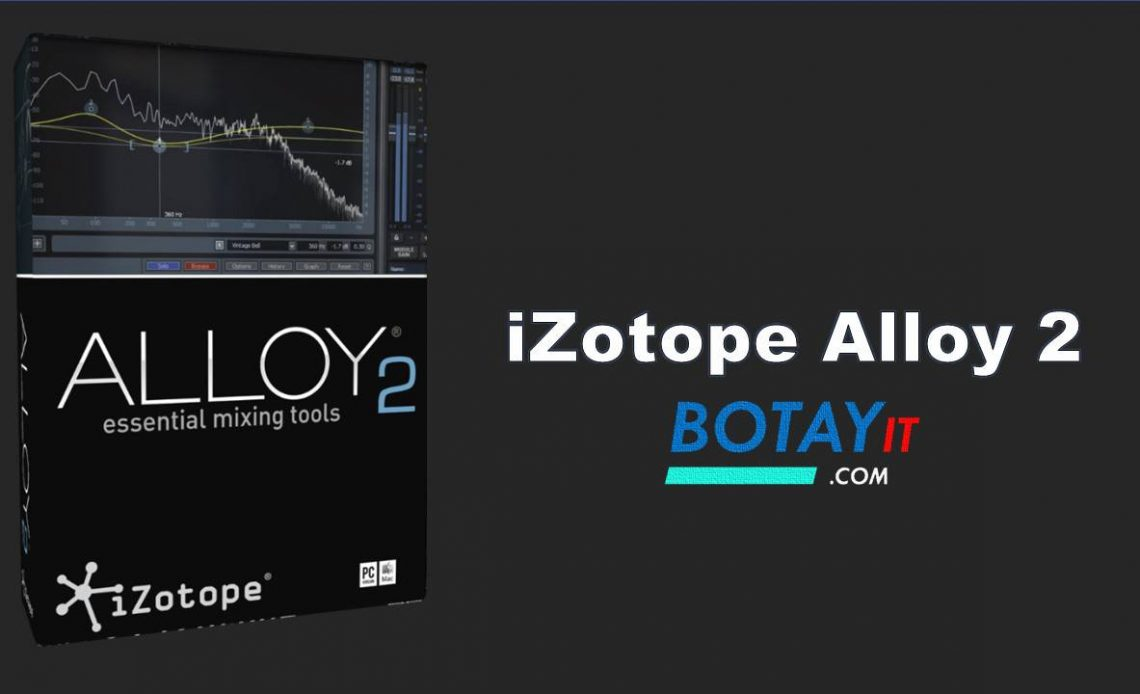 download iZotope Alloy 2 full active