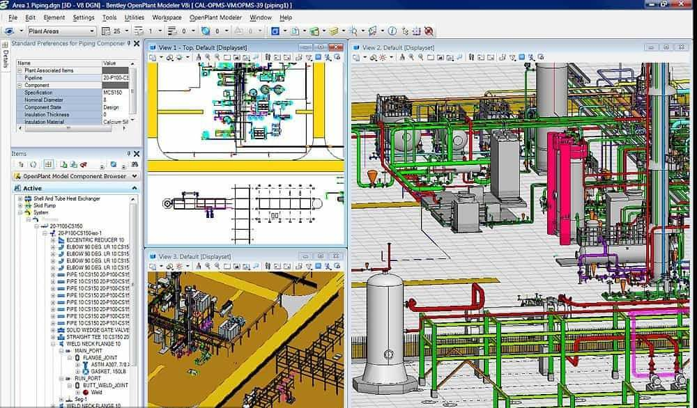 download Bentley AutoPLANT Plant Design crack