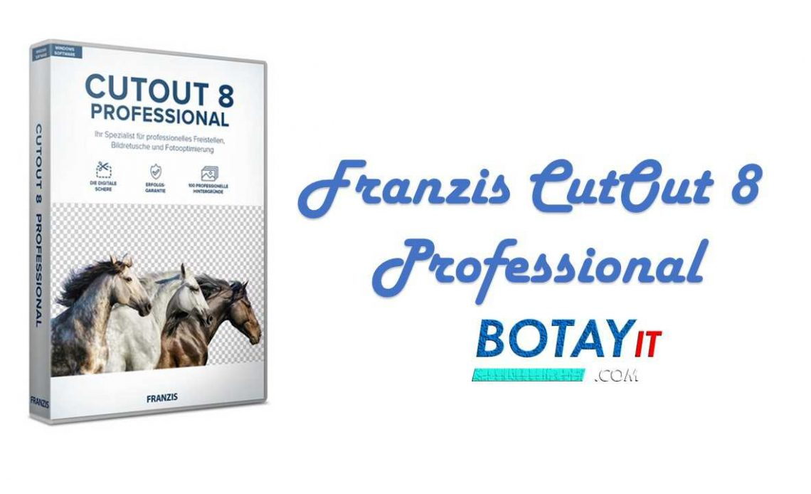 Franzis CutOut 8 Professional full crack