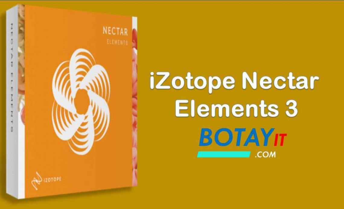iZotope Nectar Elements 3 full crack