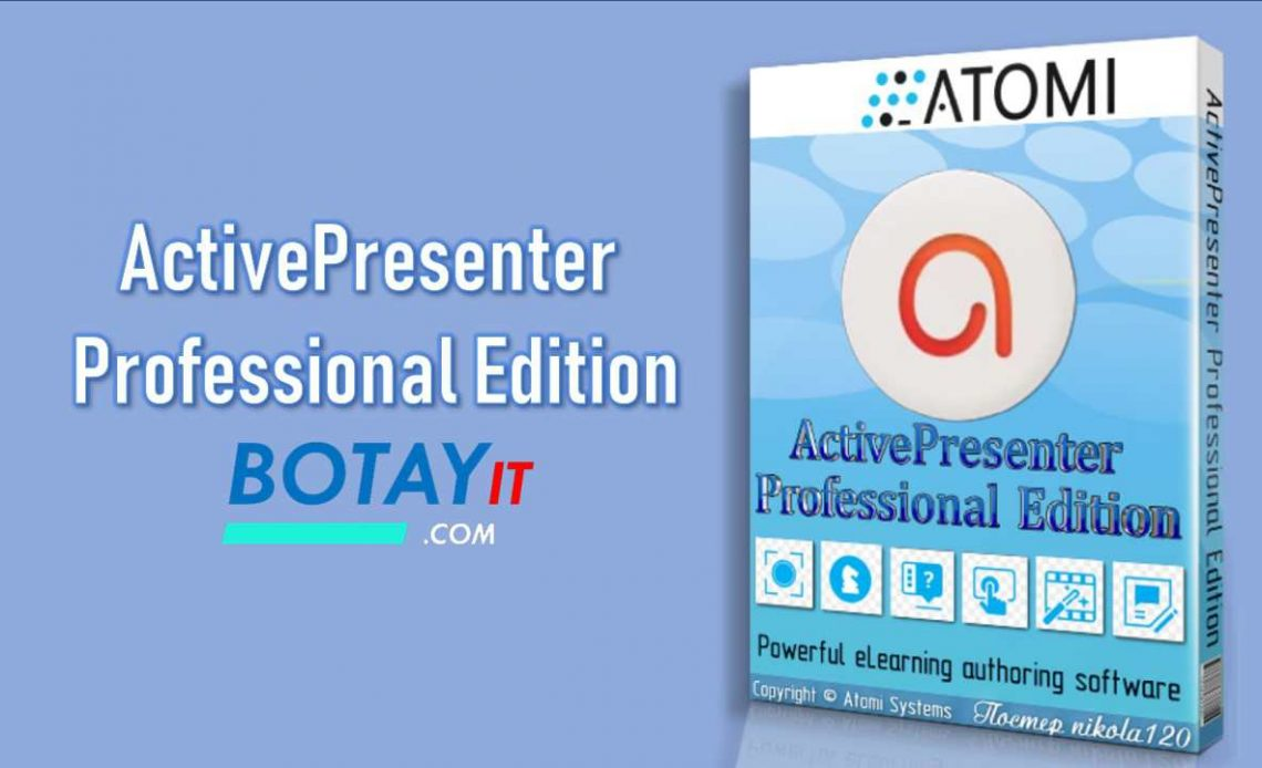 download ActivePresenter Professional Edition 2019 crack