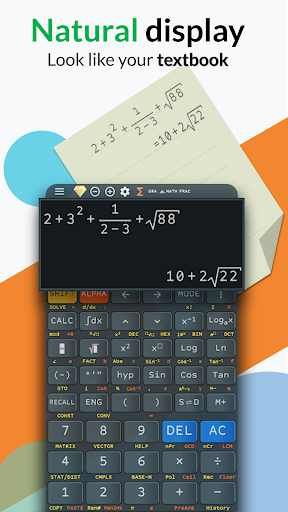 Advanced Calculator FX 991 ES PLUS & 991 MS PLUS v4.0.2