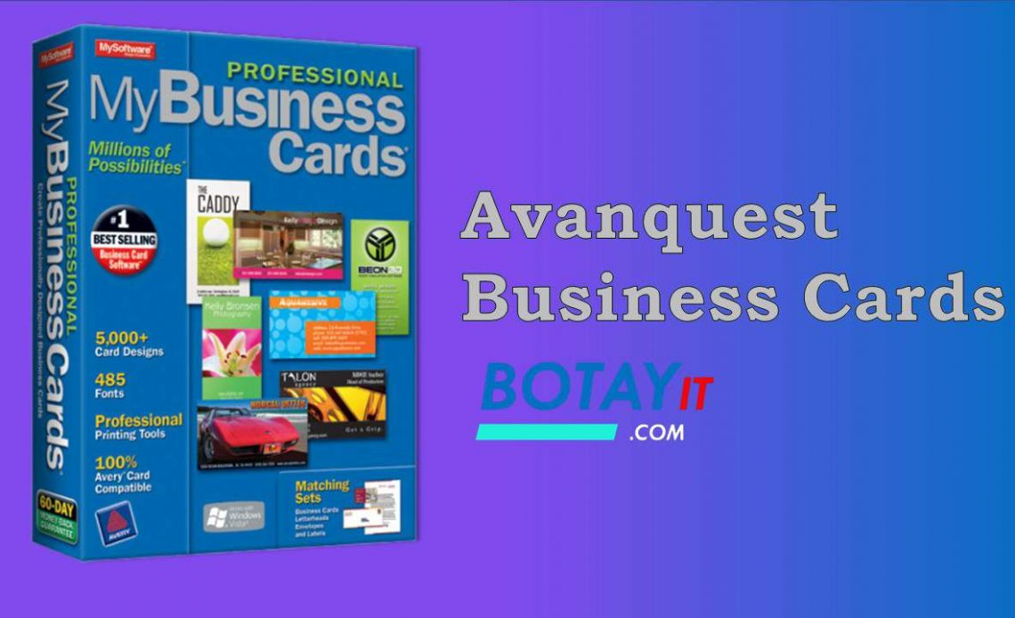 Avanquest Business Cards 8 full crack