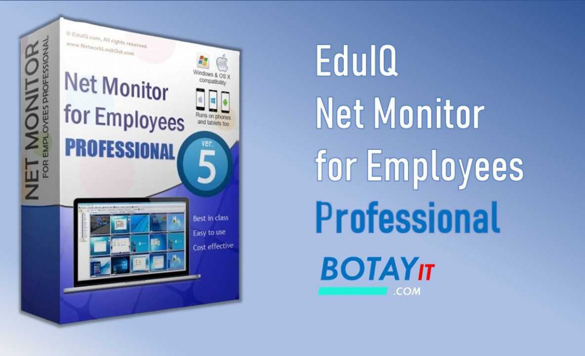EduIQ Net Monitor for Employees Professional full crack