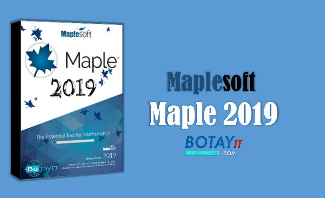 download Maplesoft Maple 2019 full crack