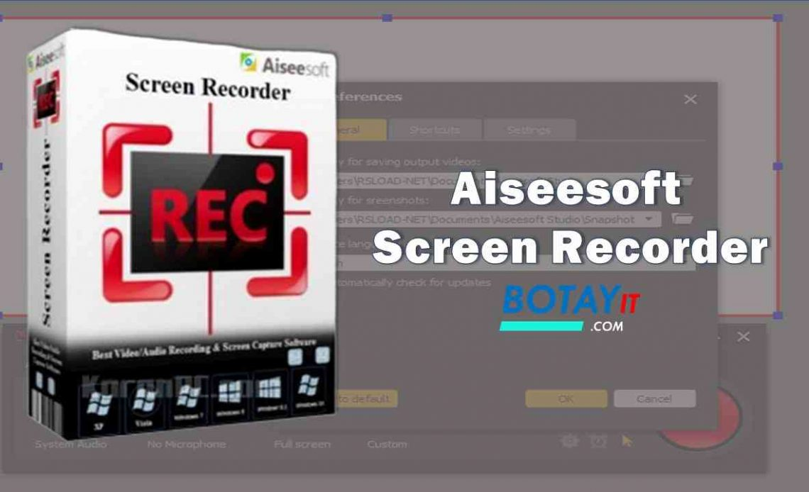 download Aiseesoft Screen Recorder full crack