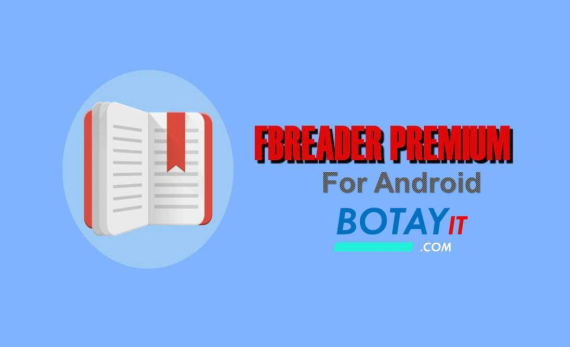 FBReader Premium mod apk for android