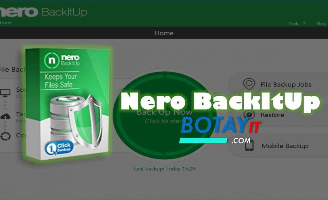 download Nero BackItUp 2020 full crack