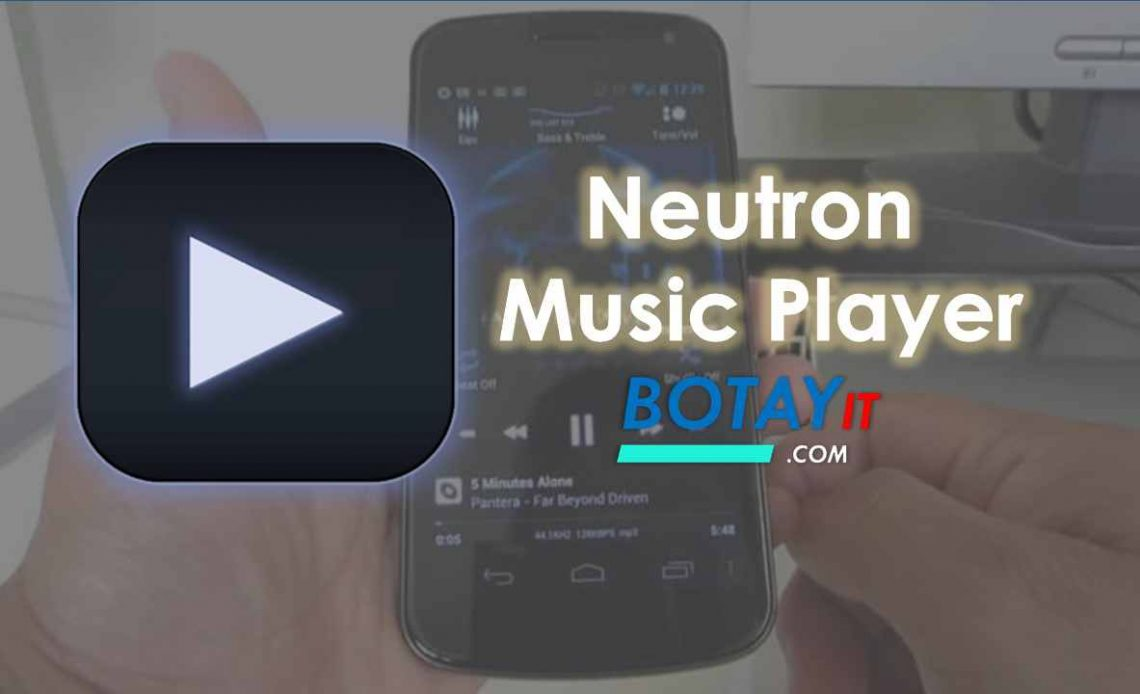 download Neutron Music Player mod apk