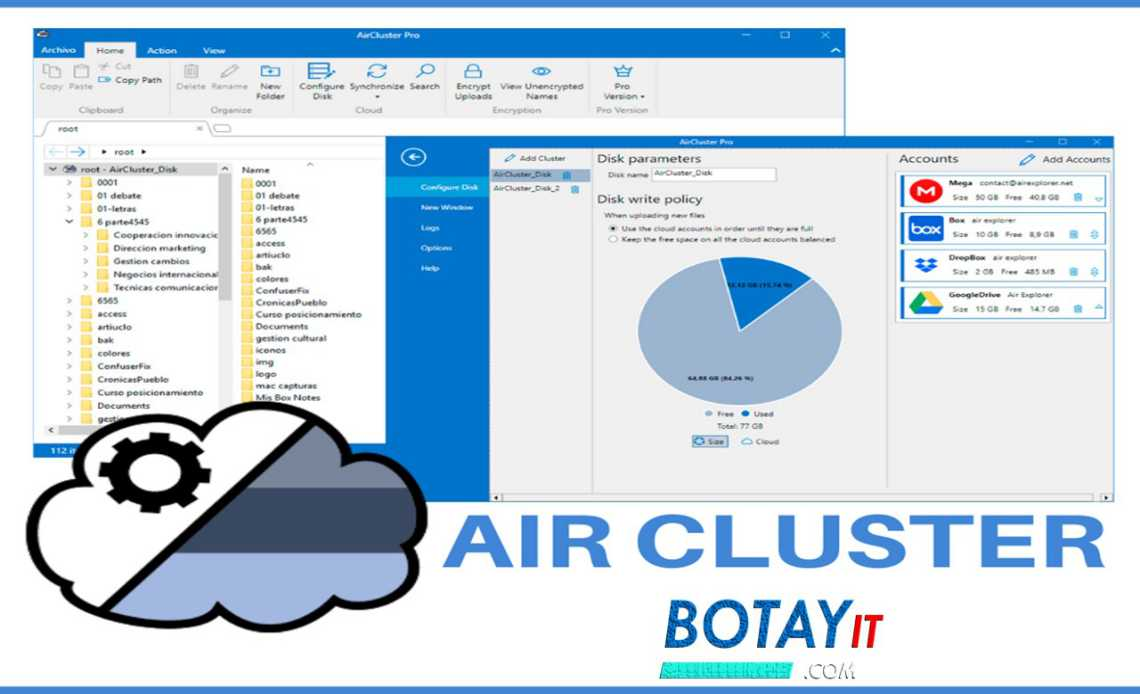 download Air Cluster Pro crack