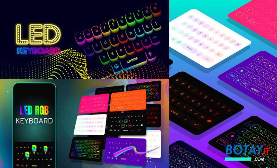 LED Keyboard Lighting