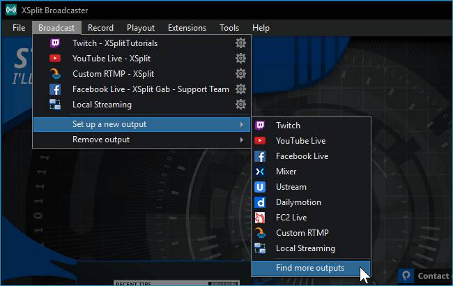 download XSplit Broadcaster Premium full crack