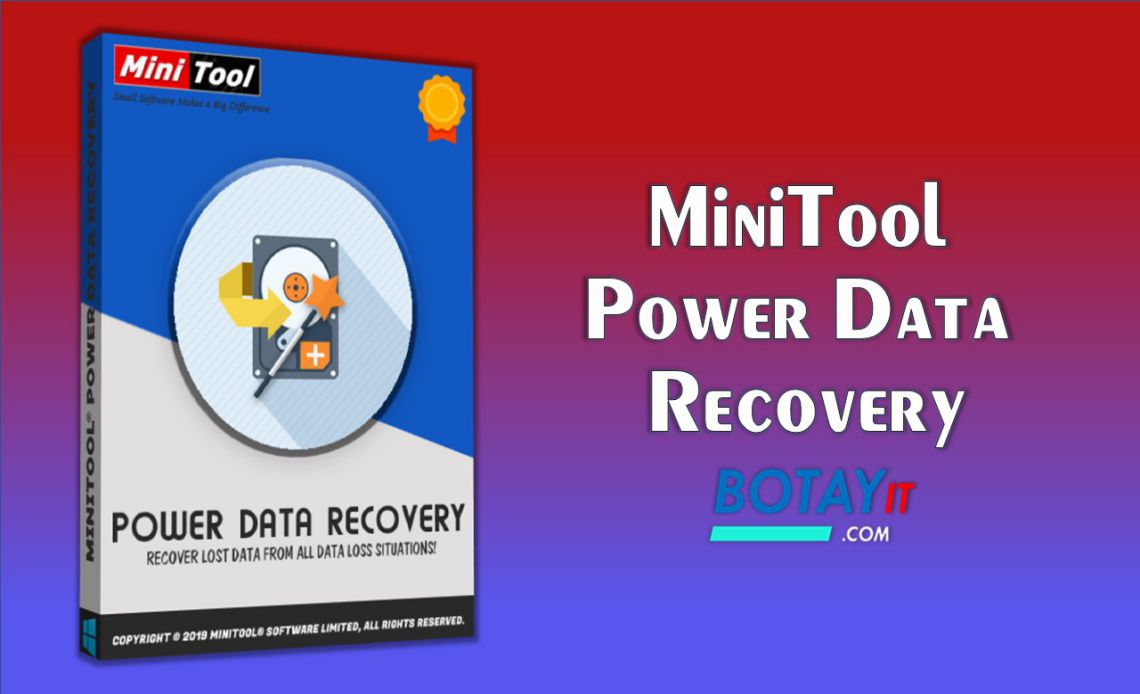 cài đặt MiniTool Power Data Recovery