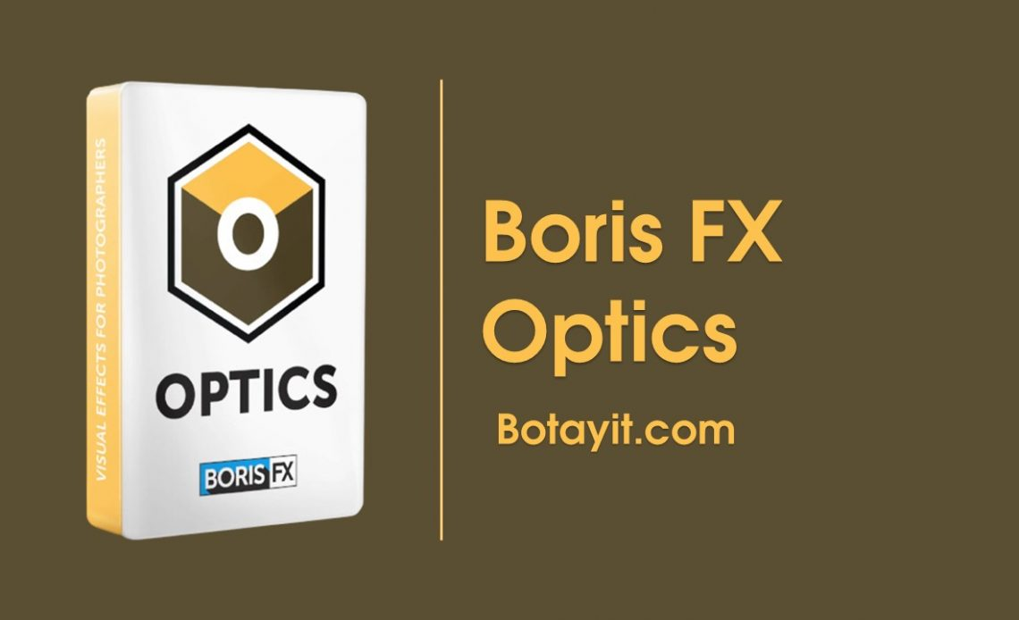 tai ve Boris FX Optics crack