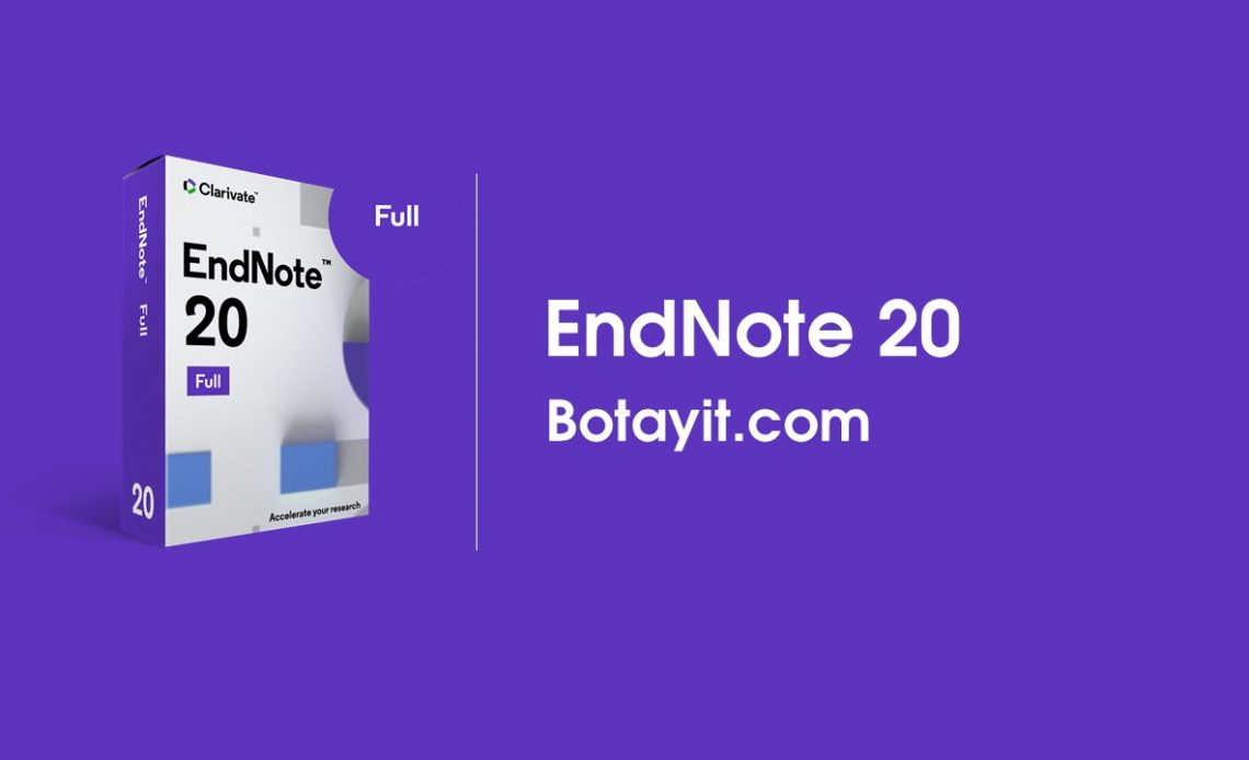 tai ve EndNote 20 crack